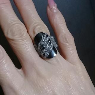 ブラックオニキス指輪✨💍✨(リング(指輪))