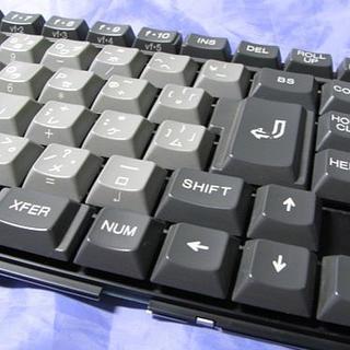 エヌイーシー(NEC)のNEC PC-9801NS/Tのキーボード(ジャンク)(その他)