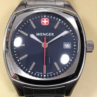 ウェンガー(Wenger)の【りーさんさま用】ウェンガー 095.2015 クオーツ(腕時計(アナログ))
