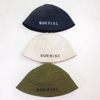 """ノンネイティブ(nonnative)のBe prepared """"SUNRISE""""Sailor Hat(ハット)"""