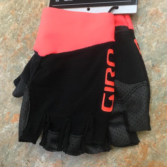高グリップ感 GIRO ZERO CS指切りグローブ  オレンジ  Lサイズ スポーツ/アウトドアの自転車(ウエア)の商品写真