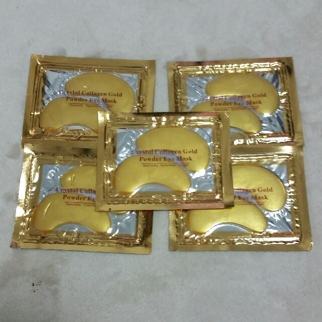 ユニチャームマスク箱,24金配合 目元パック5枚セットの通販
