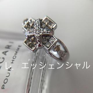 K18WG ブラウンダイヤモンドリング(リング(指輪))