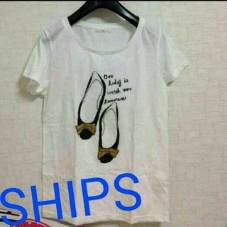 シップスフォーウィメン(SHIPS for women)のSHIPS パンプスTシャツ(Tシャツ(半袖/袖なし))