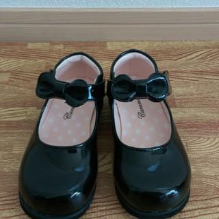 セレモニーシューズ バレーシューズ レディース キッズ 結婚式 靴 16cm(フォーマルシューズ)