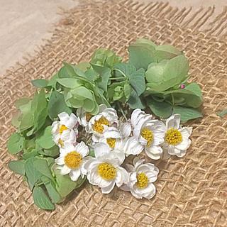 花かんざしとグリーンのドライフラワー(ドライフラワー)