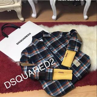 ディースクエアード(DSQUARED2)のディースクエアード ダウンジャケット シャツジャケット❤️超美品(ダウンジャケット)