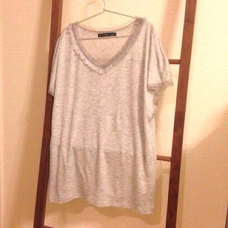 デミルクスビームス(Demi-Luxe BEAMS)のBEAMS フリンジTシャツ(Tシャツ(半袖/袖なし))