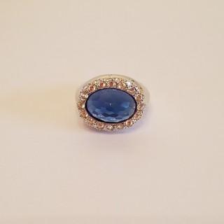 新品 ブルー 指輪(リング(指輪))