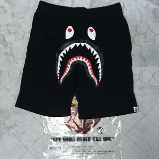 アベイシングエイプ(A BATHING APE)のA BATHING APE  SHARK SWEAT SHORTS M(ショートパンツ)