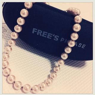 フリーズショップ(FREE'S SHOP)のパールネックレス(ネックレス)