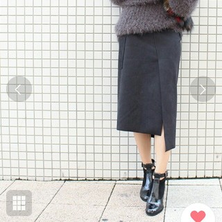 イエナ(IENA)のモードローブ アシンメトリースカート(ひざ丈スカート)