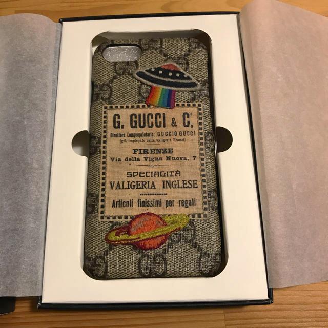 iphone7 ケース 可愛い ブランド | Gucci - GUCCIiPhone7ケース♡の通販 by ゆうり's shop|グッチならラクマ