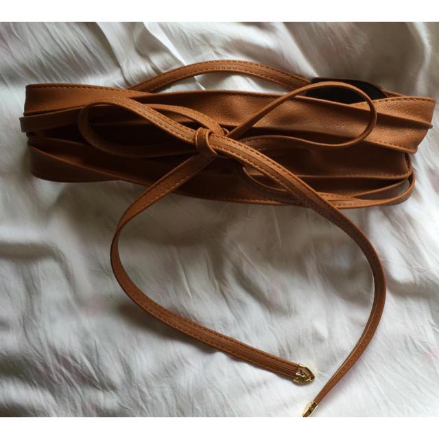 mystic(ミスティック)の【ワンポイントに❤︎】mystic のサッシュベルト レディースのファッション小物(ベルト)の商品写真