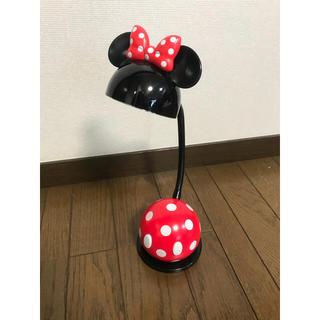 ディズニー(Disney)のTDR ディズニーランド デスク ライト LED ミニー テーブルライト(テーブルスタンド)