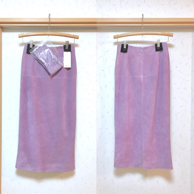 FRAY I.D(フレイアイディー)のフレイ アイディーFRAY I.Dベルトセットスウェードスカート レディースのスカート(ロングスカート)の商品写真