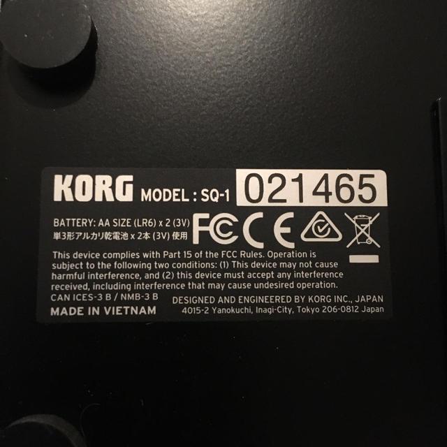KORG(コルグ)のイエローマン様専用 korg-sq1 楽器のDTM/DAW(MIDIコントローラー)の商品写真