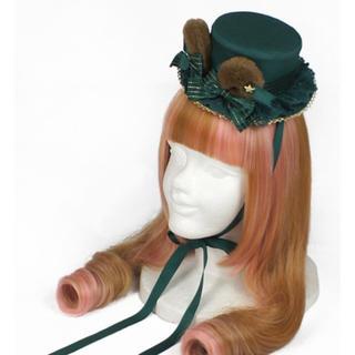 アンジェリックプリティー(Angelic Pretty)のmerry bear ミニ hat(ハット)