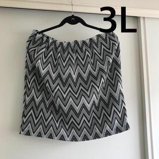 アベイル(Avail)の新品未使用 3L タイトスカート(ミニスカート)