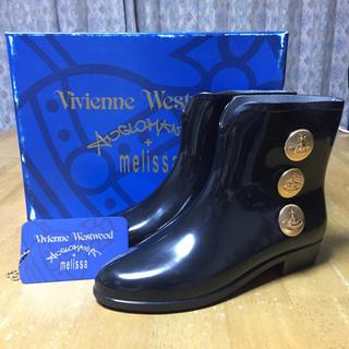 ヴィヴィアンウエストウッド(Vivienne Westwood)のVivienne Westwood × melissa ラバーブーツ(レインブーツ/長靴)