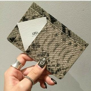 トゥデイフル(TODAYFUL)のTODAYFUL◆パイソンコインケース 財布(コインケース)