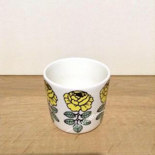 マリメッコ(marimekko)のラテマグ イエロー(グラス/カップ)