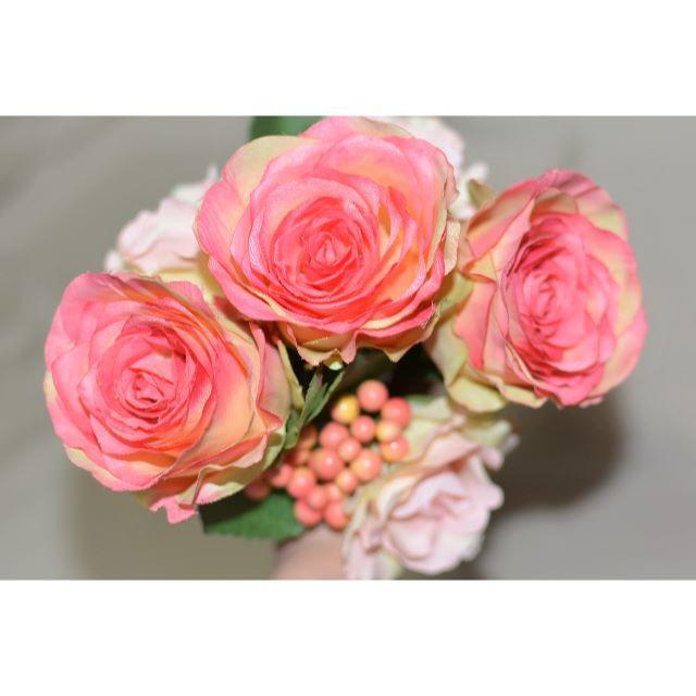 【新品、日本製】花嫁様4点セット リングピロー、花冠、ブーケ、リボン レディースのフォーマル/ドレス(ウェディングドレス)の商品写真