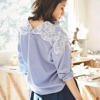 トッコ(tocco)のノスタルジア 刺繍ブラウス(Tシャツ(長袖/七分))