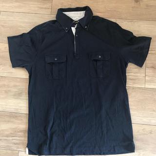 イルファーロバイルチアーノバルベラ(ILFARO by LUCIANO BARBERA)のIL FARO ネイビー ポロシャツ(ポロシャツ)