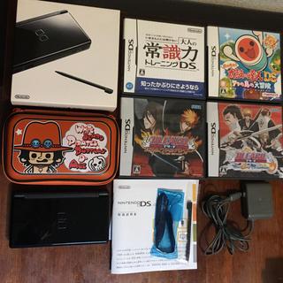 ニンテンドーDS(ニンテンドーDS)の✨ワンピース専用ケース付き✨任天堂DS Lite 本体とソフトセット(携帯用ゲーム機本体)