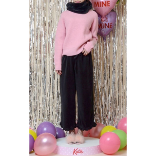 ケイティー(Katie)のKatie dress in VELVET pants (カジュアルパンツ)