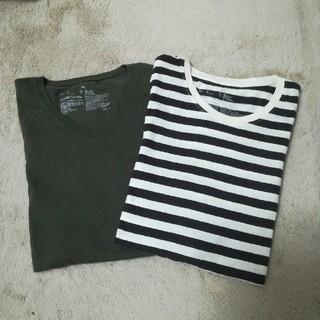 ムジルシリョウヒン(MUJI (無印良品))の1回着用 無印 オーガニックコットン 長袖 2枚組 XL (Tシャツ(長袖/七分))