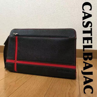 カステルバジャック(CASTELBAJAC)のCASTELBAJABC セカンドバッグ レザー 0322(セカンドバッグ/クラッチバッグ)