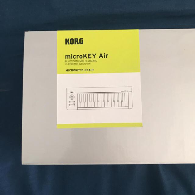 KORG(コルグ)のKORG micro KEY Air ワイヤレスmidi キーボード 楽器のDTM/DAW(MIDIコントローラー)の商品写真