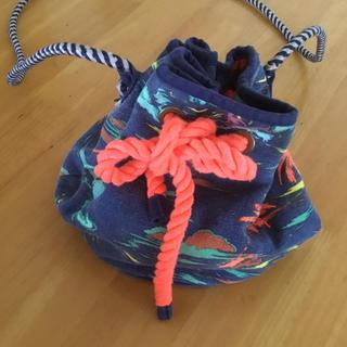 ザラキッズ(ZARA KIDS)の巾着型サマーバッグ(ショルダーバッグ)