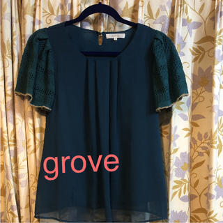 グローブ(grove)の半袖カットソー グローブ(カットソー(半袖/袖なし))