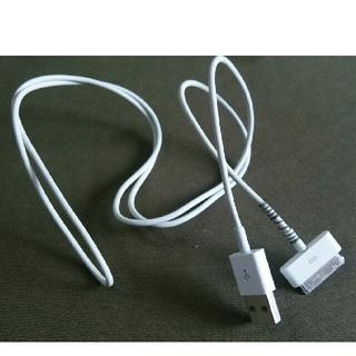 アイポッドタッチ(iPod touch)のipod touch USB ケーブル(その他)