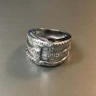 ホワイトゴールドダイヤモンドリングUSED(リング(指輪))