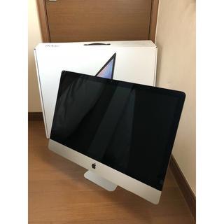 Apple iMac retina 5k 2015 27インチ i7 4.0G(デスクトップ型PC)