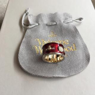 ヴィヴィアンウエストウッド(Vivienne Westwood)の廃盤品 ヴィヴィアンウエストウッド キングリング Sサイズ(リング(指輪))