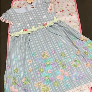 スーリー(Souris)の☆♡ゆああ♡様専用です☆  未使用  souris  ジャンパースカート 120(ワンピース)