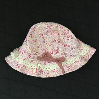 スーリー(Souris)の【新品未使用】スーリー  ベビー帽子 48センチ(帽子)