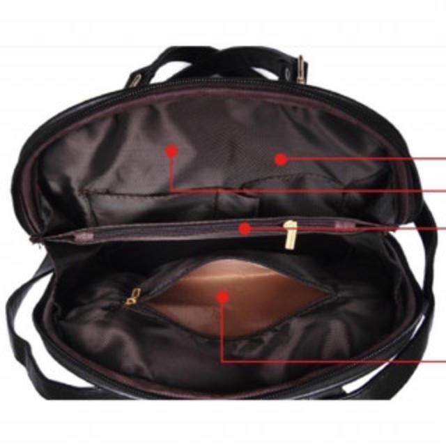 0fe9a25a53db 大容量 大人かわいいオシャレリュック 黒 GF11ブラック レディースのバッグ(リュック/バック