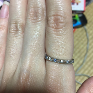 シルバーキラキラ指輪(リング(指輪))