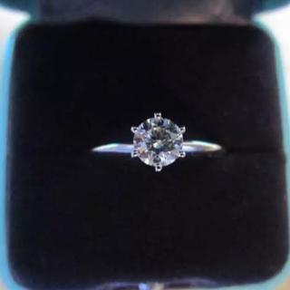 ティファニー(Tiffany & Co.)のティファニーセッティング ダイヤモンド 0.46 最終値下げ(リング(指輪))
