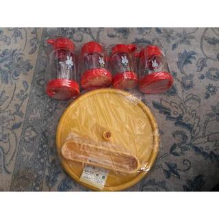 ヤマザキセイパン(山崎製パン)のミッフィー  miffy 調味料入れセット(ノベルティグッズ)