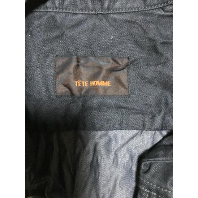 TETE HOMME(テットオム)のジャケット メンズのジャケット/アウター(Gジャン/デニムジャケット)の商品写真