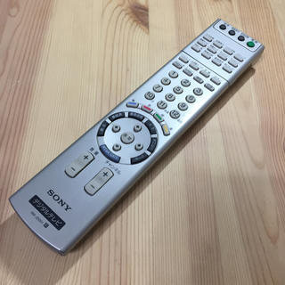 ソニー(SONY)の動作未確認ジャンク SONYデジタルテレビリモコン RM-JD001(テレビ)