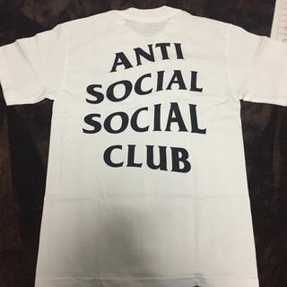 アンチ(ANTI)のAnti social social club white tシャツ(Tシャツ/カットソー(半袖/袖なし))