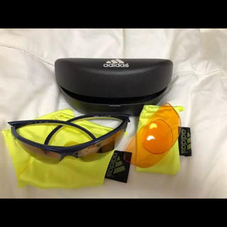 アディダス(adidas)の美品◆adidas◆スポーツサングラス(サングラス/メガネ)
